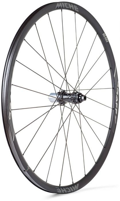 Miche Graff Silver Aluminum Clincher Wheelset